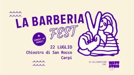 domenica 22 luglio 2018 - La Barberia Records Festival